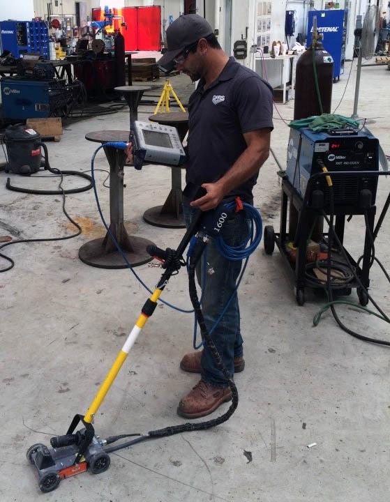 Gpr Concrete Slab Scan For Post Tension Cables Dallas Tx